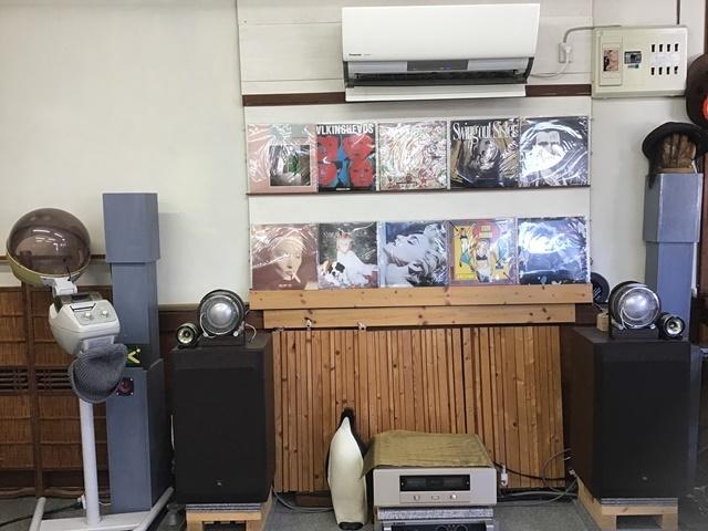 ワンドロップ 店内 レコード